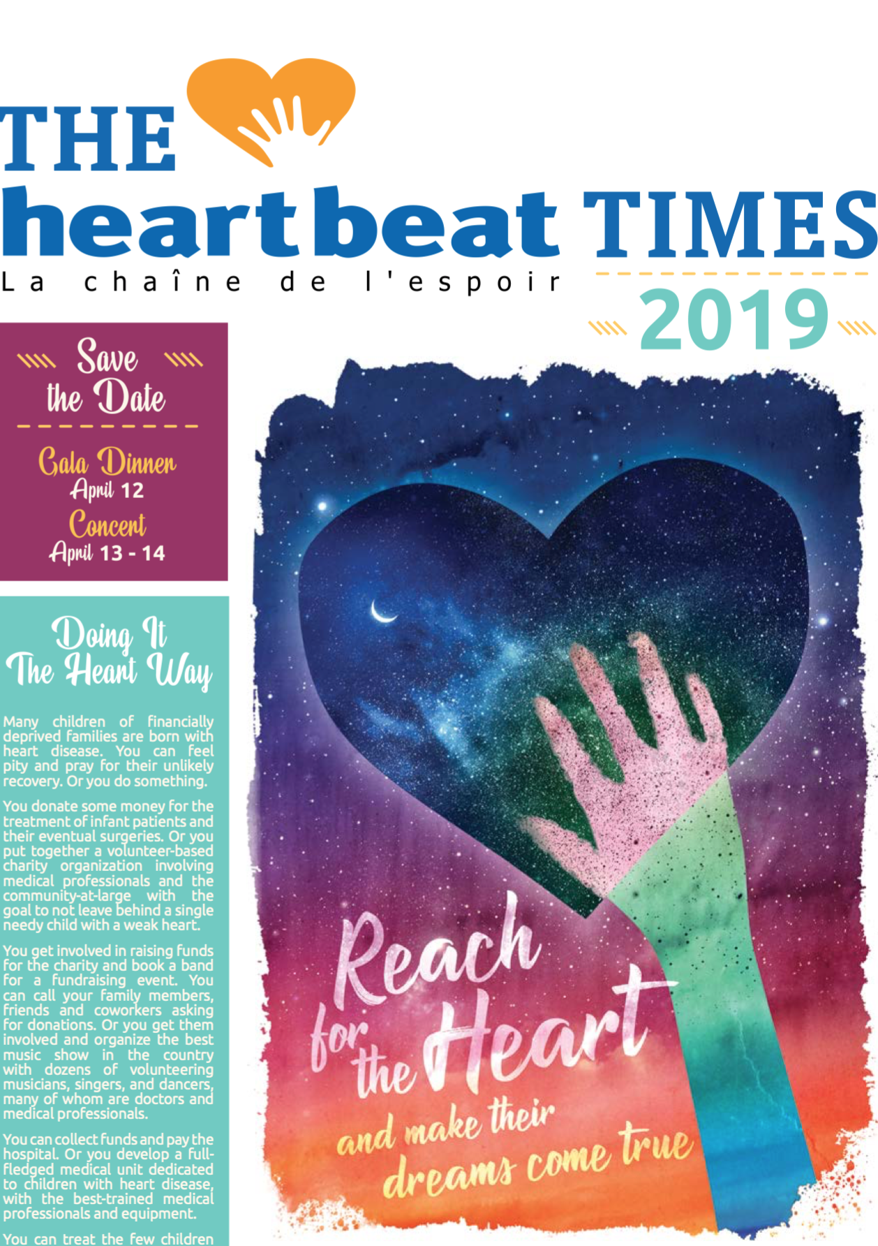 Heartbeat Newsletter 2019 and annual report