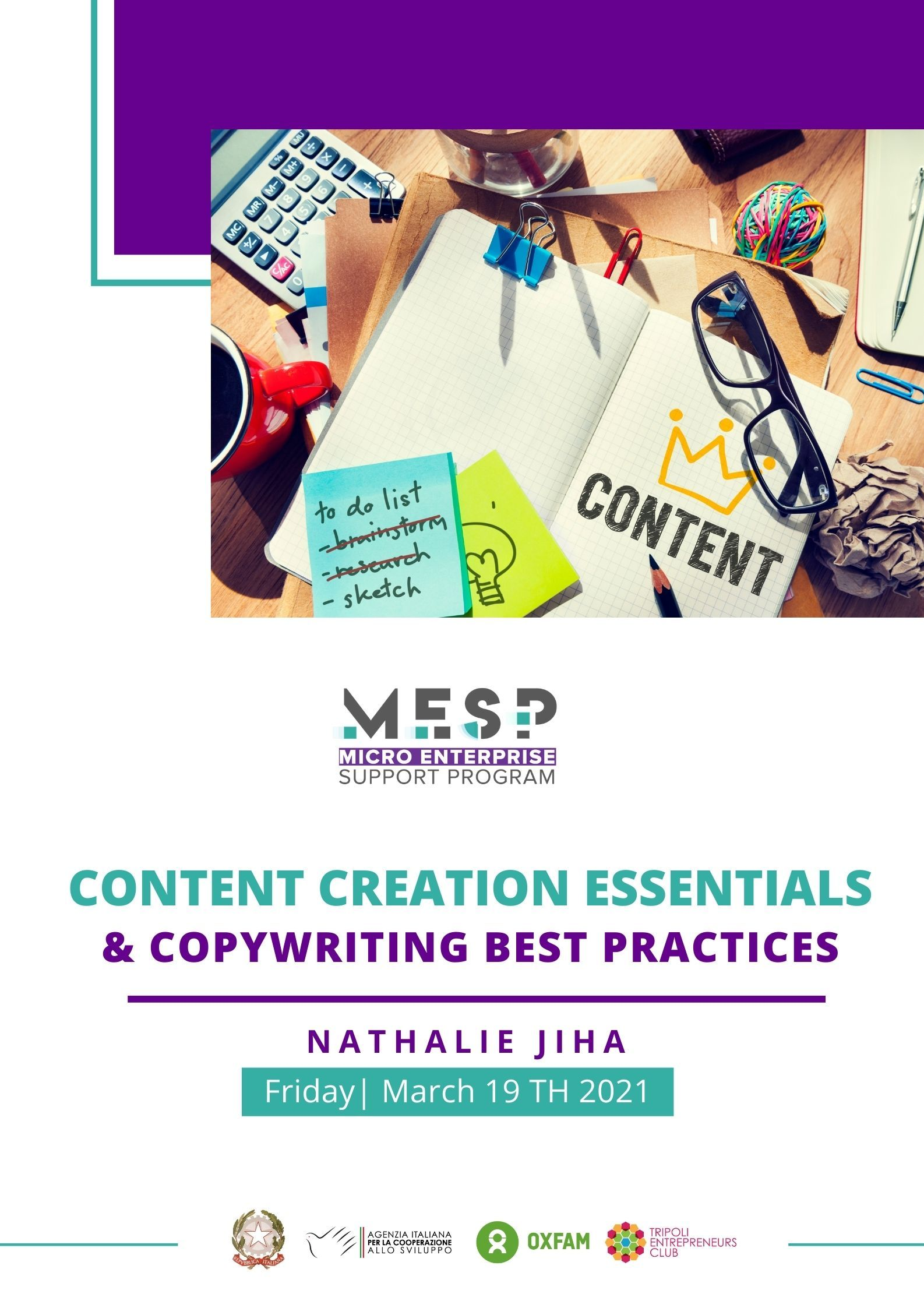 Content Creation Workshop in North Lebanon