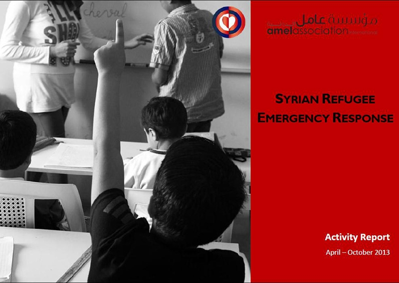 Activity Report - Syrian Refugee Emergency Response