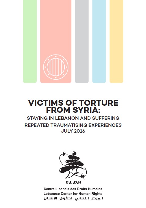 Victims Of Torture From Syria - Staying In Lebanon And Suffering Repeated Traumatising Experiences (En)