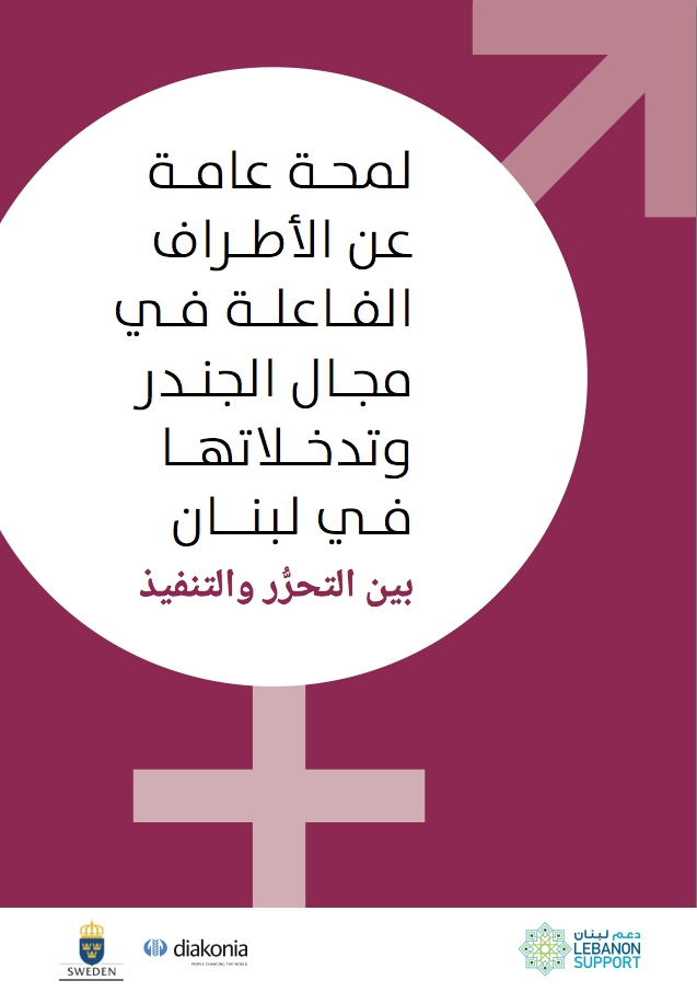 لمحة عامة عن الأطراف الفاعلة في مجال الجندر وتدخلاتها في لبنان