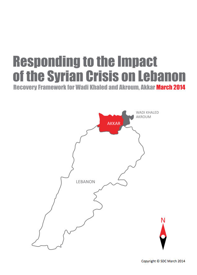 Responding To The Impact Of The Syrian Crisis On Lebanon: Recovery Framework For Wadi Khaled And Akroum, Akkar