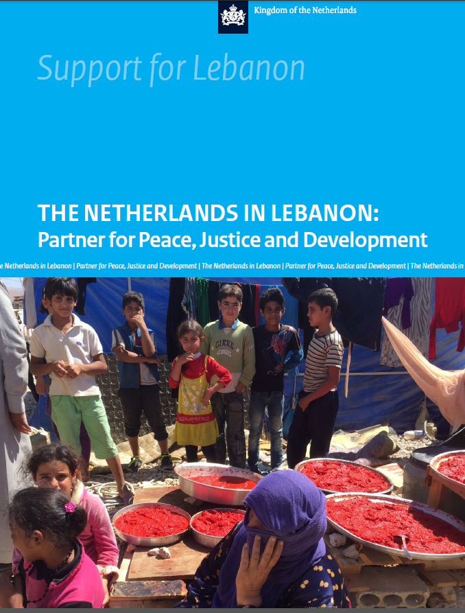 Netherlands Support To Lebanon: Partners For Peace, Justice & Development