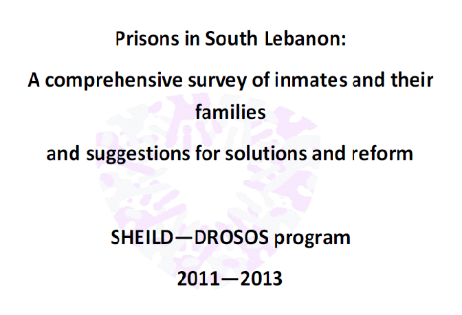Analytical Study On Inmates And Their Families In South Lebanon