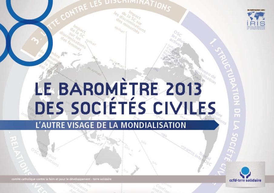 Le Baromètre Des Sociétés Civiles 2013 - L'Autre Visage De La Mondialisation