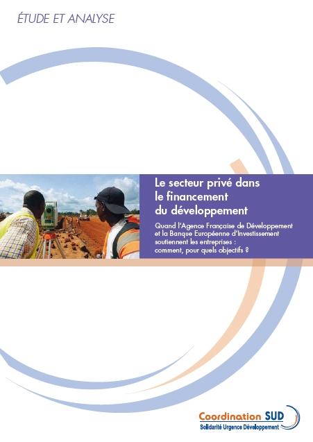 Le Secteur Privé Dans Le Financement Du Développement