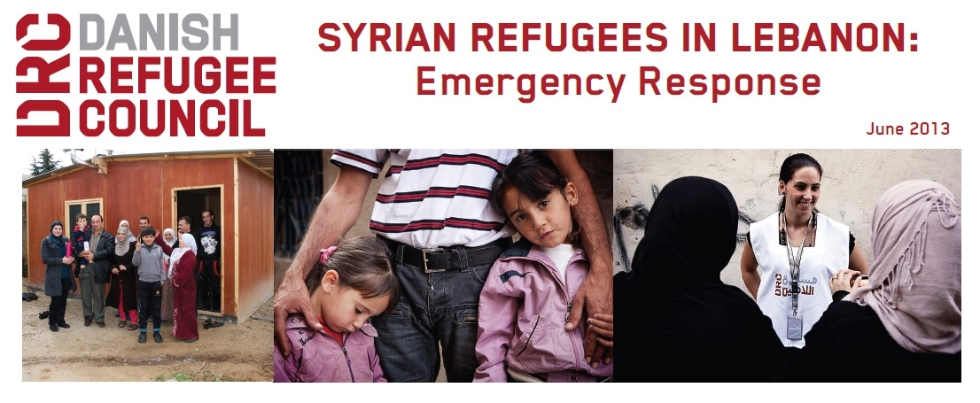 Syrian Refugees In Lebanon: Drc Emergency Response (June 2013)
