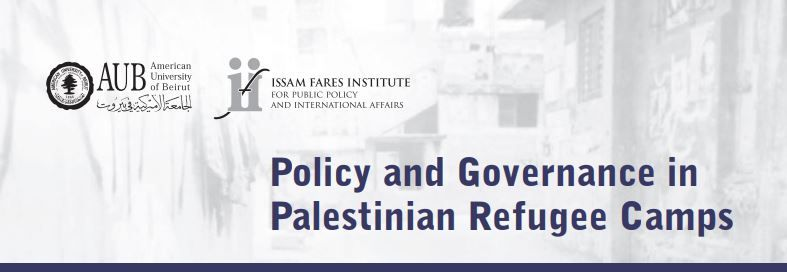 Palestinian Refugee Camps In The Arab East: Governmentalities In Search Of Legitimacy | Ifi Working Paper Series #1
