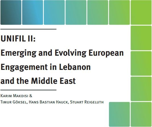 Unifil Ii: Emerging And Evolving European  Engagement In Lebanon And The Middle East - Ifi Paper