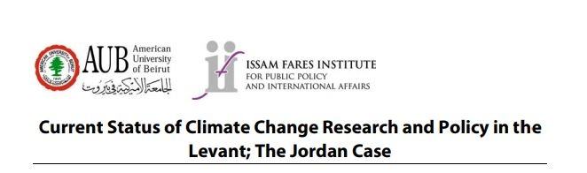 Current Status Of Climate Change Research And Policy In The Levant; The Jordan Case English Summary - Ifi Paper