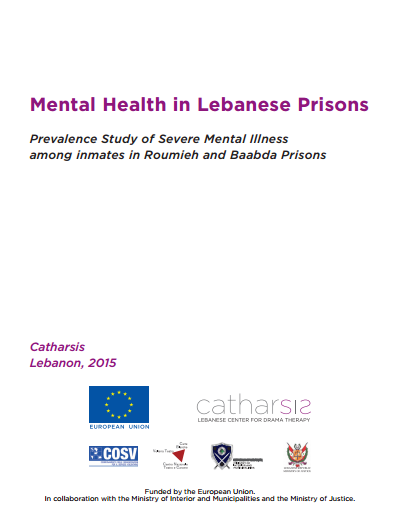 """Prevalence Study Of Severe Mental Illness Among Inmates In Roumieh And Baabda Prison"""