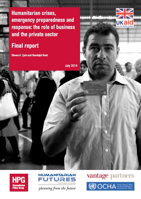 Humanitarian Crises, Emergency Preparedness And Response: The Role Of Business And The Private Sector